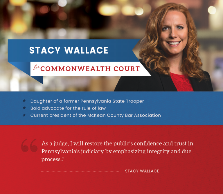 Stacy Wallace for Commonwealth Court